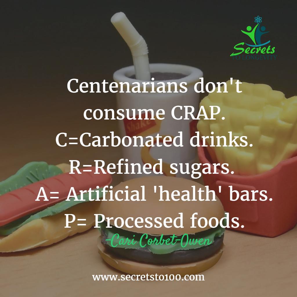 Centenarian Food Lifestyle