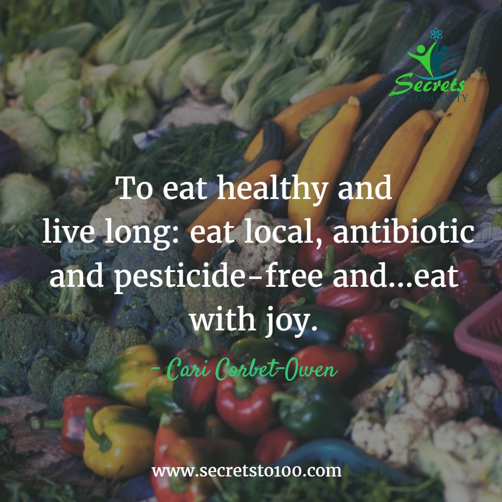 Eat Healthy Longevity