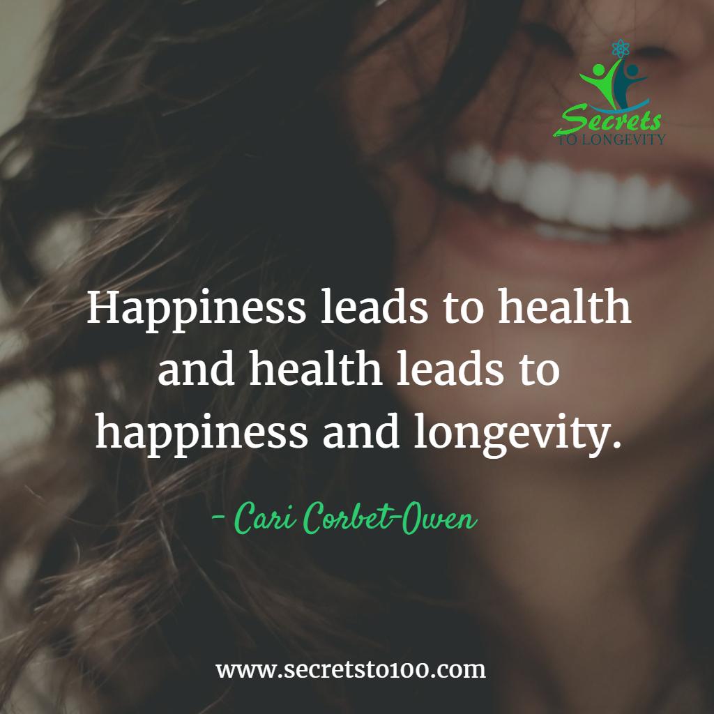 Happiness Centenarian Lifestyle