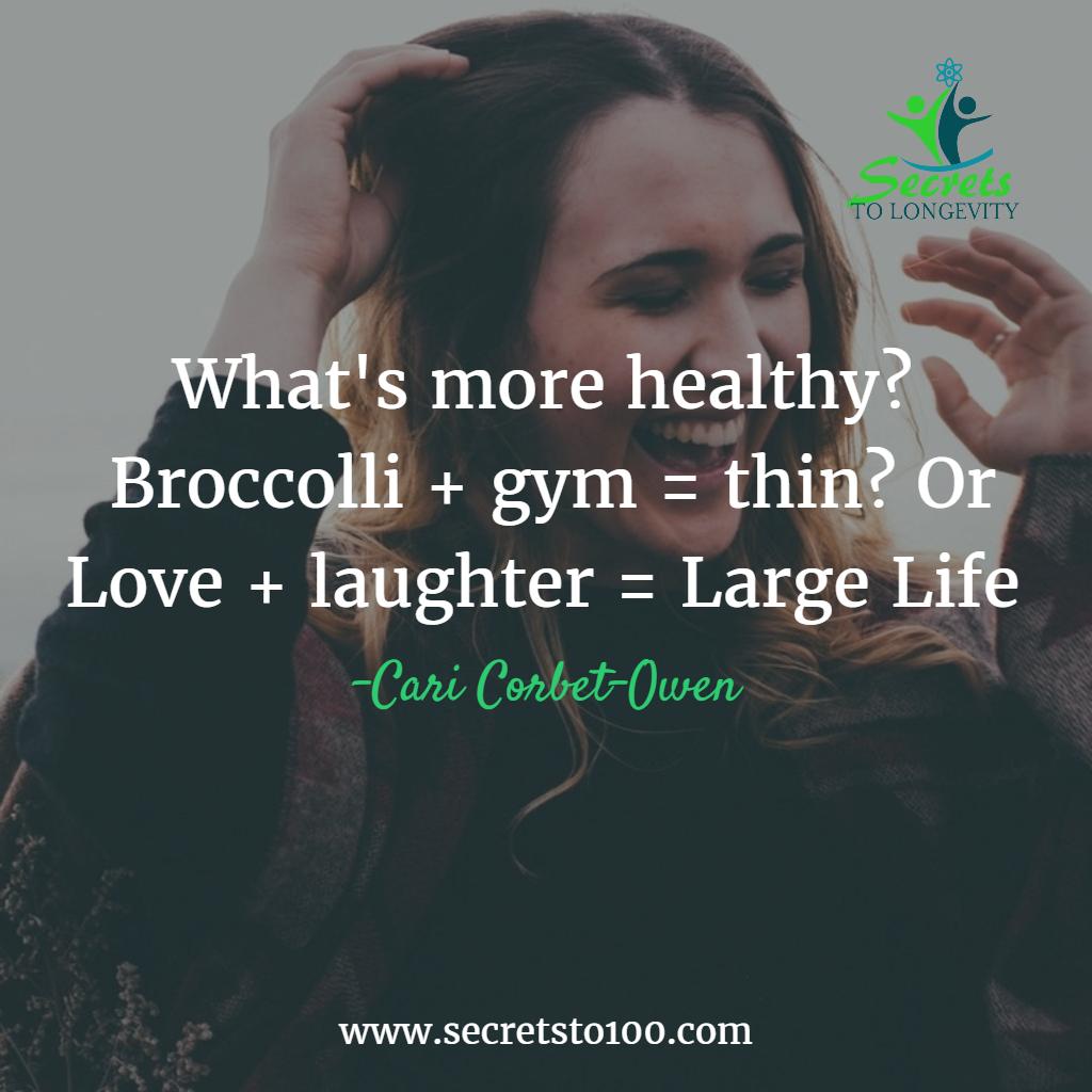 Healthy Longevity Lifestyle