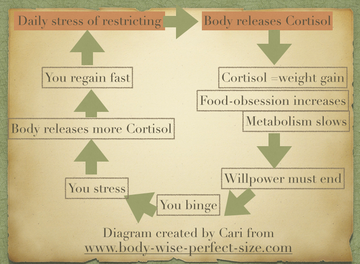 cortisol and fat, cortisol and weight gain