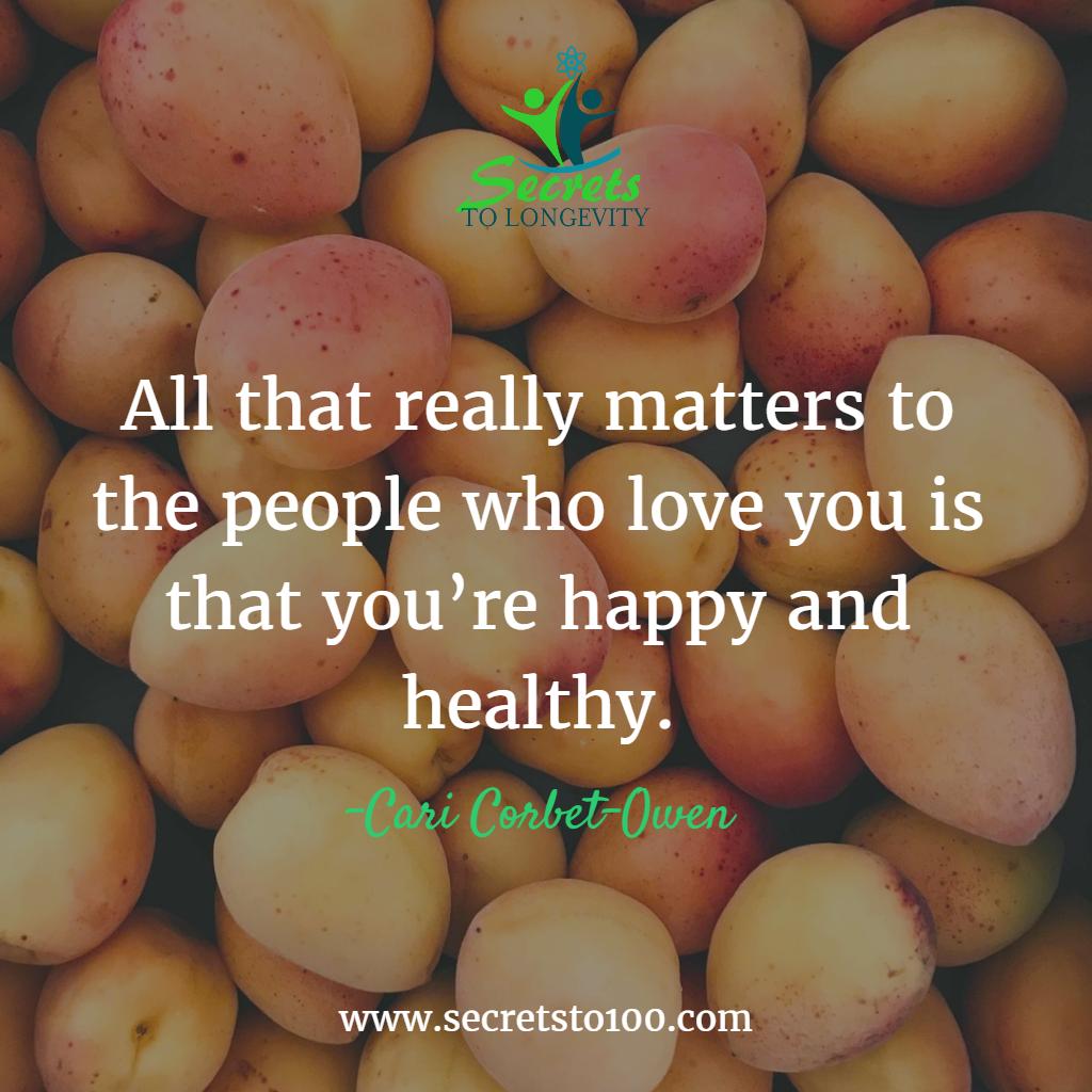 Happy Healthy Longevity